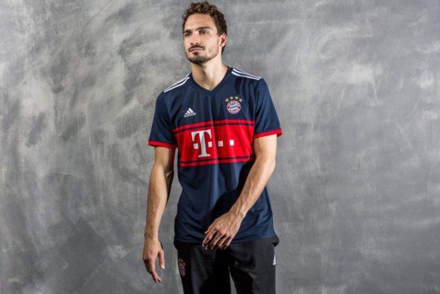 La segunda y tercera camiseta de Bayern München 2017 2018 - Mi ... fb1b3416da737
