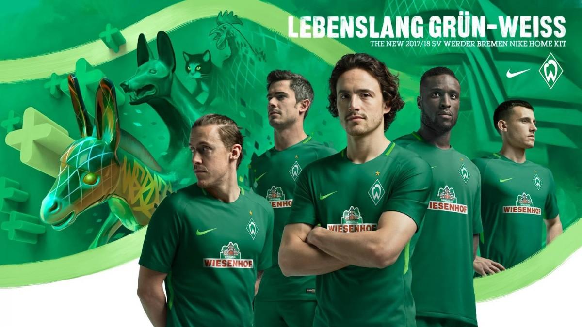 87a22ace9f Las camisetas del Werder Bremen para 2017 2018 - Mi Bundesliga