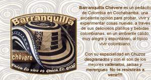 Barranquilla Chévere