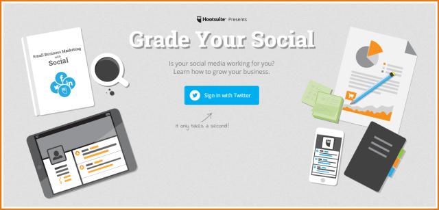 Hootsuite Social Grader