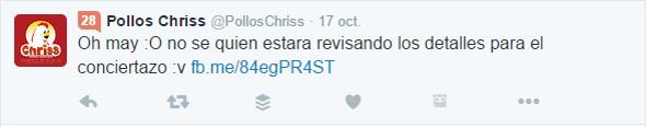 Pollos Chriss y su crisis