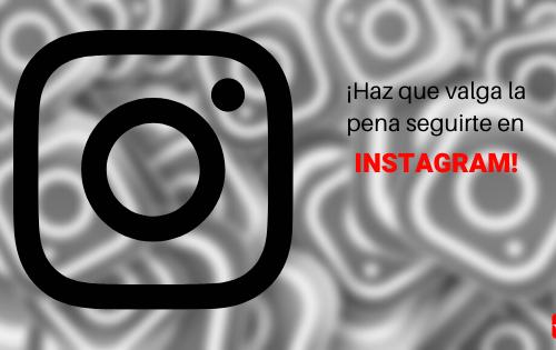 Cuenta en Instagram