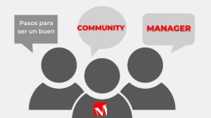 community manager por Mica Sabja