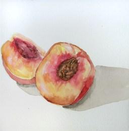 Day 122 (8/28/12): What a Peach