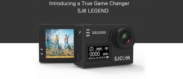 novedades sjcam sj6 legend