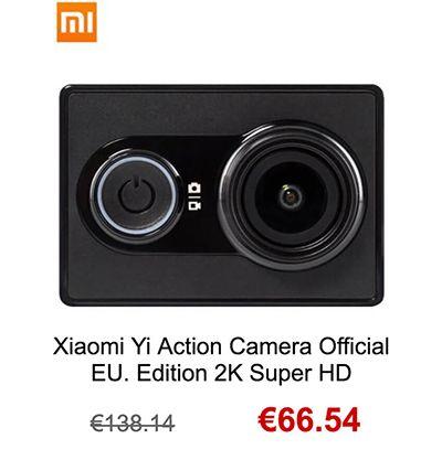 11 del 11 en gearbest xiaomi yi action camera 2k