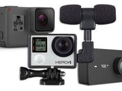 listado cámaras deportivas compatibles con micrófonos externos
