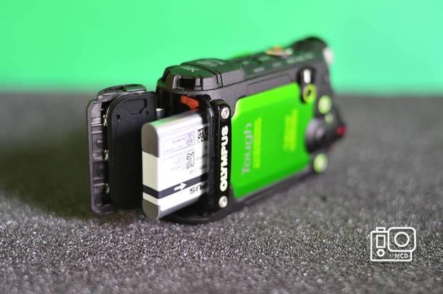 olympus tough tg tracker batería