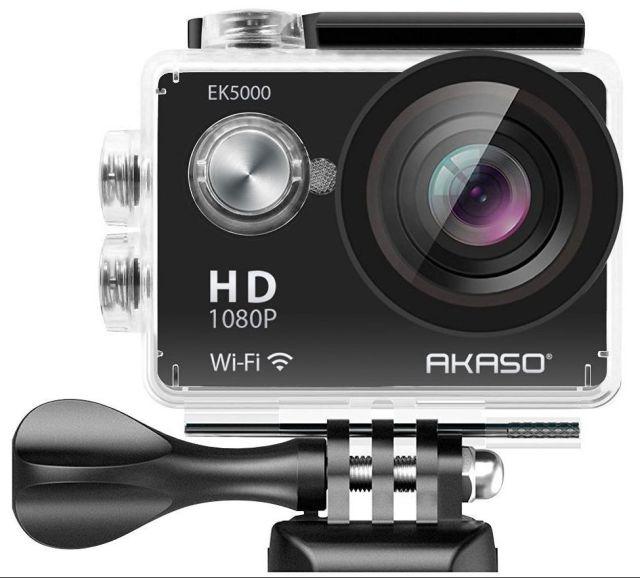 cámaras de acción más vendidas akaso ek5000
