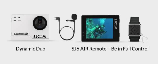 sj6 legend air accesorios