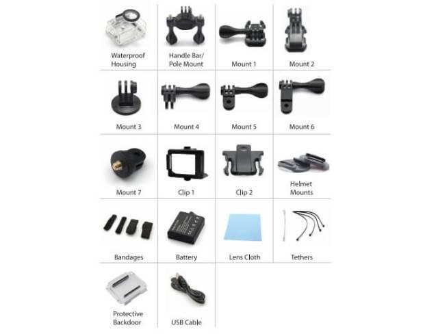 amkov 4k amk accesorios