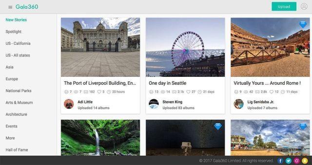 apps videos 360 grados