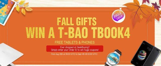 fall gifts geekbuying