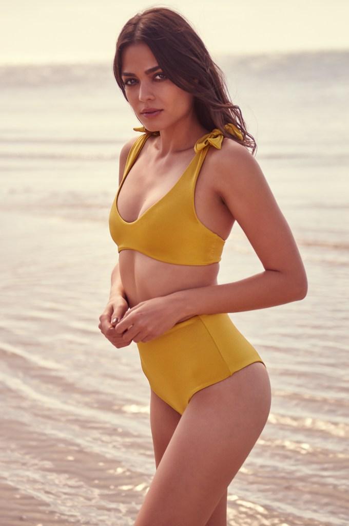 Bikini ocre ADAIA