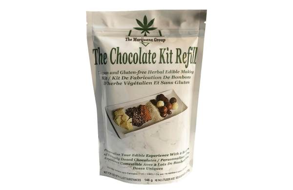Chocolate Weed Edibles Kit Refill Bag