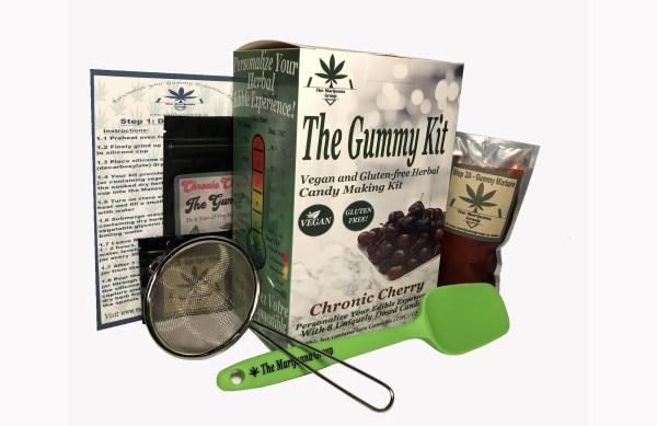 Chronic Cherry Gummy Weed Edibles Kit