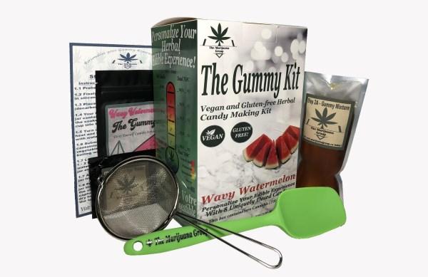 Wavy Watermelon Gummy Weed Edibles Kit