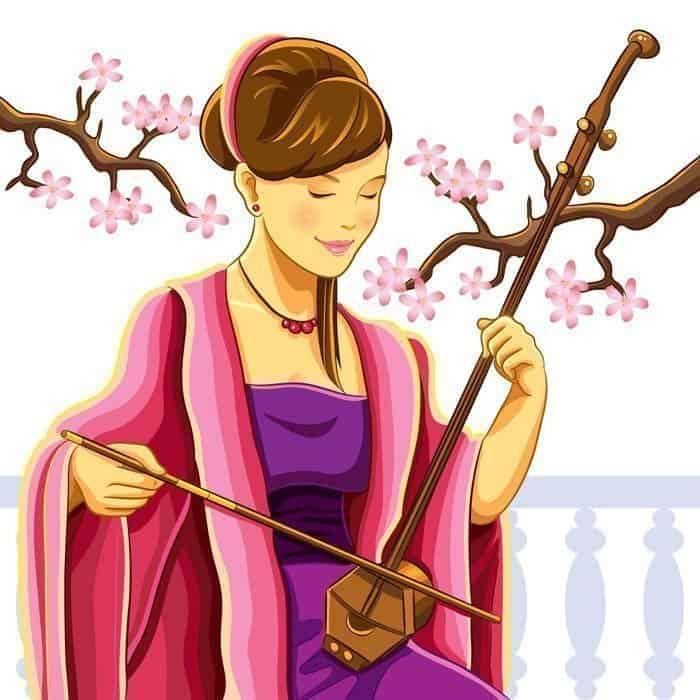 violín erhu chino 1