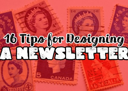 16 Tips to Designing a Newsletter and Pop-Up Forms