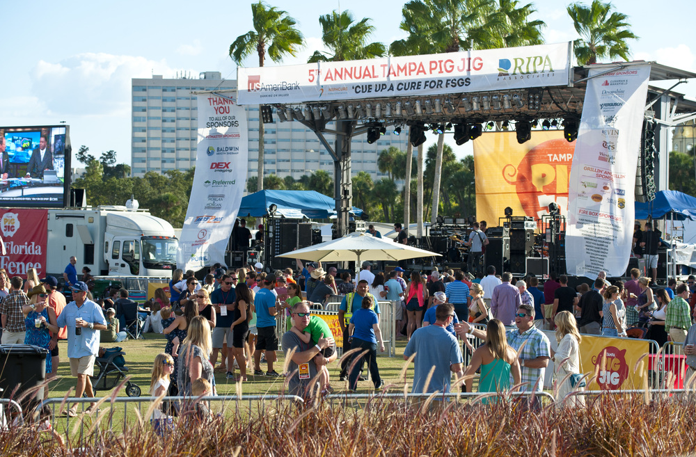 Tampa Celebrates 9th Annual Pig Jig