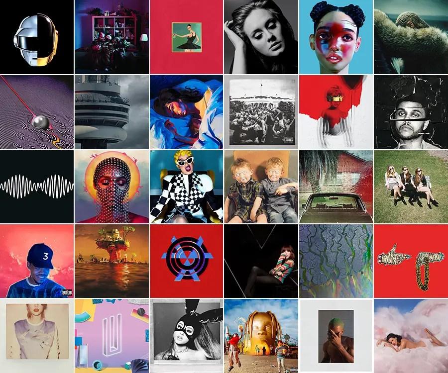 Decade Wrap Up | Each Year's Best Album