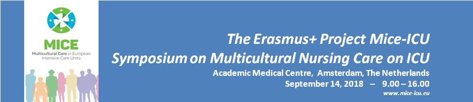 (English) Final Programme Symposium on Multicultural Nursing Care in ICU ready!