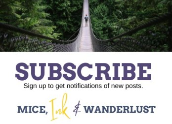 Subscribe to new posts - MICE, Ink & Wanderlust