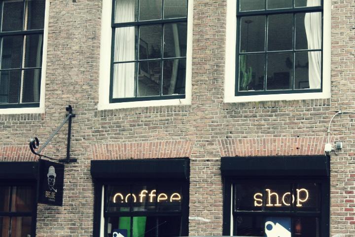 Coffee shop en Amsterdam