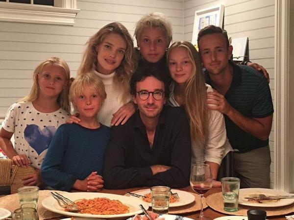 Natalia Vodianova almost lost fifth child born premature