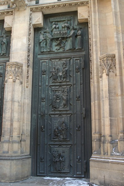 Veits Kathedrale Prager Burg 1.2.09