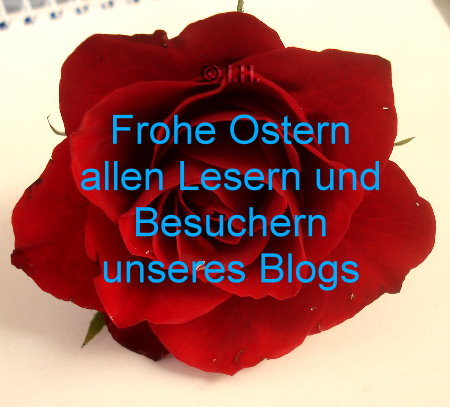 frohe Ostern Blog