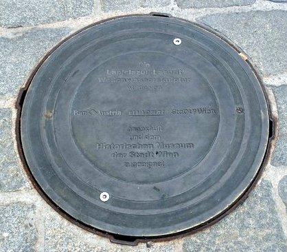Kanaldeckel Wien