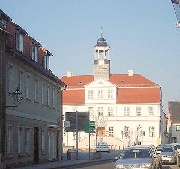 Rathaus in Bad Düben 2010