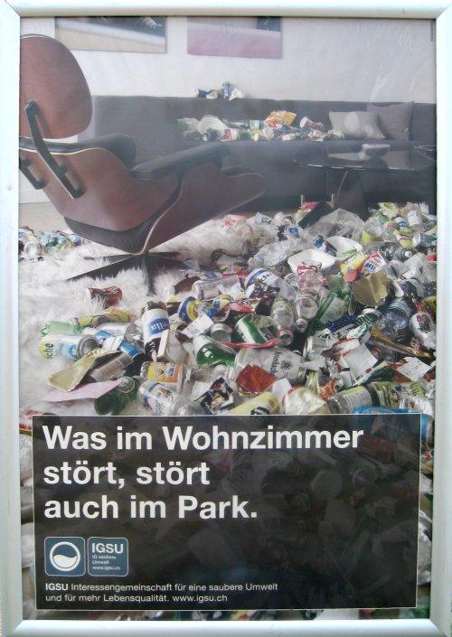 ... auch im Park