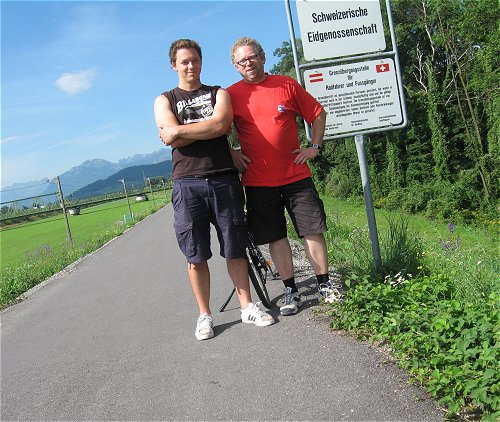 Schweizerische Grenze