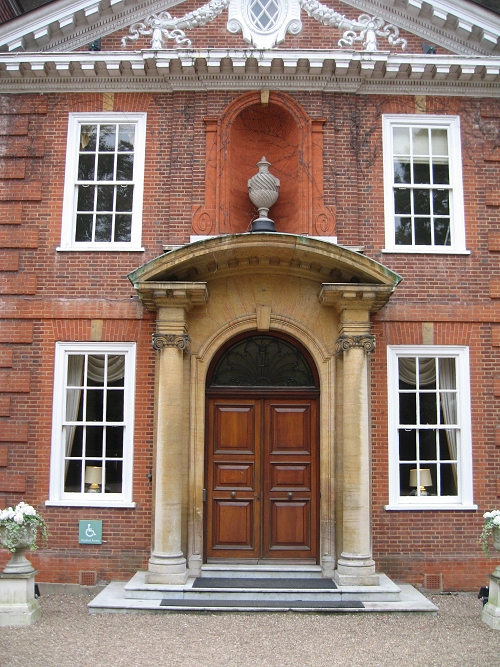 Das Portal von Hunton House