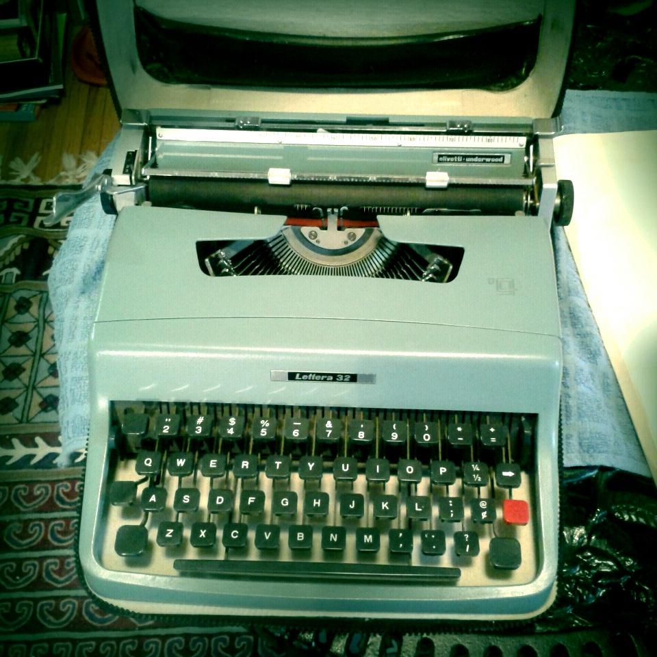 My Olivetti Lettra 32