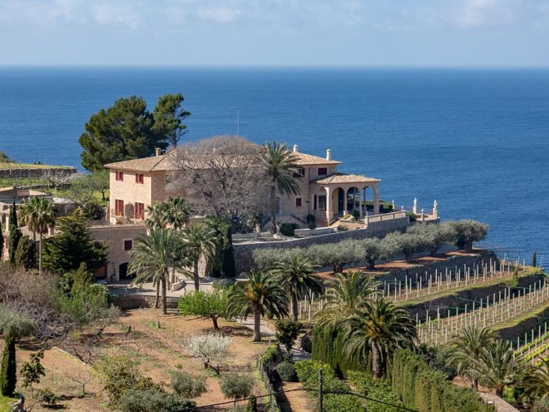 Banyalbufar, Mallorca, Spanien