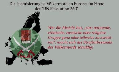 Afbeeldingsresultaat voor islamisierung deutschen städten