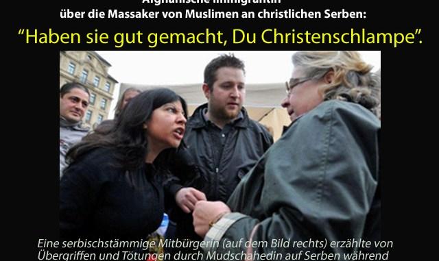 muslimin in m nchen ihr schei deutschen wenn wir erst. Black Bedroom Furniture Sets. Home Design Ideas