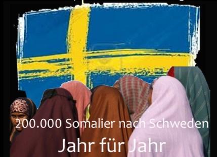 200.000 Somalier nach Schweden