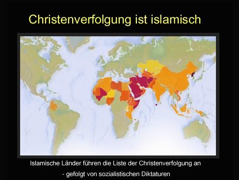 christenverfolgen ist islamisch