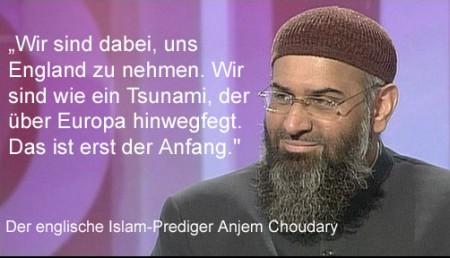 Moslems uebernehmen England