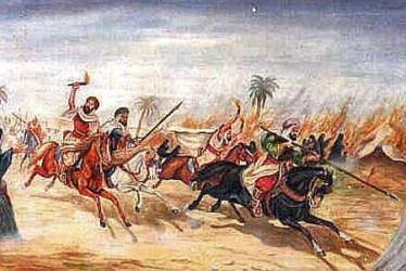 Muhammad the Prophet raids & pillages caravans