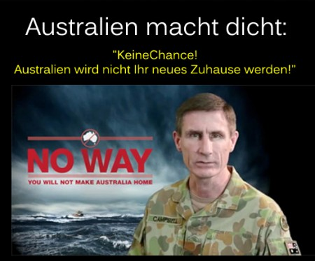 Australien macht dicht