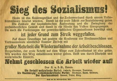 Flugblatt des Essener Arbeiter- und Soldatenrates_2