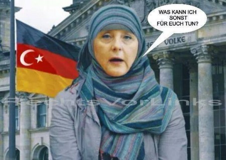 Merkel und Islam