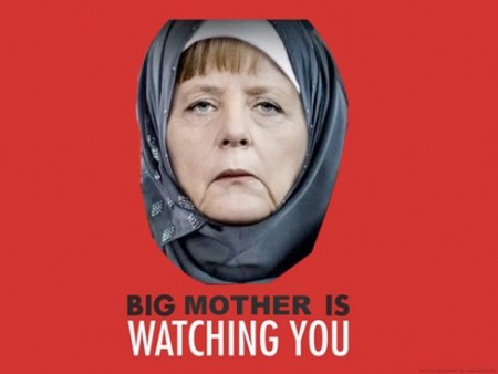 Merkel is watching u
