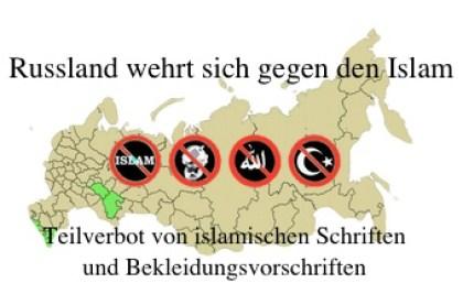 Russland Islamverbot