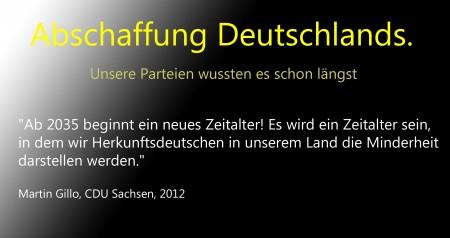 Abschaffunbg Deutschlands CDU